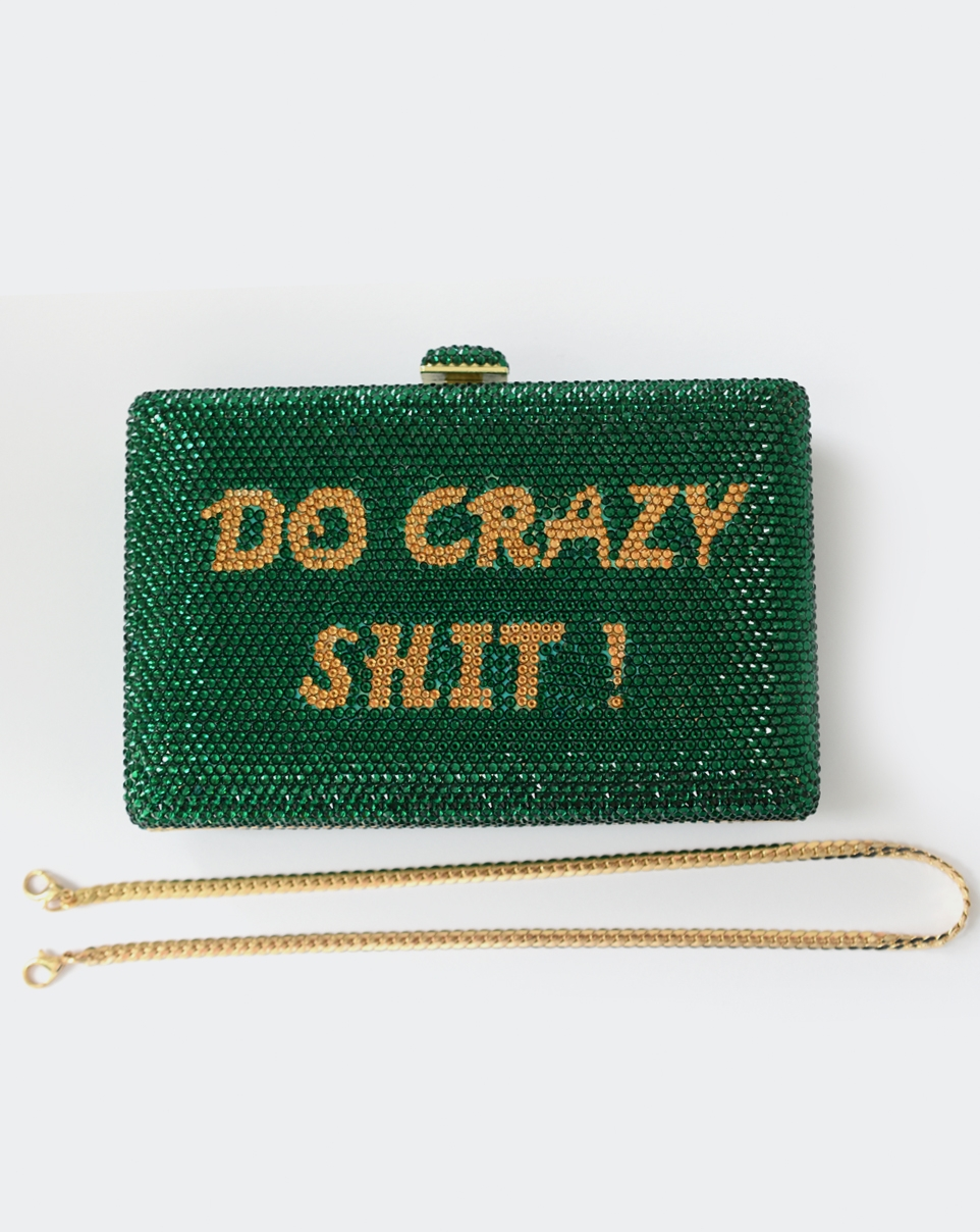 Crazy Shit Clutch-6927